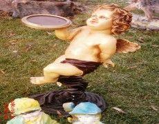 Children Angel Statue