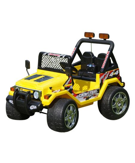 Yellow Jeep Wrangler S618 Ride-On | zulily