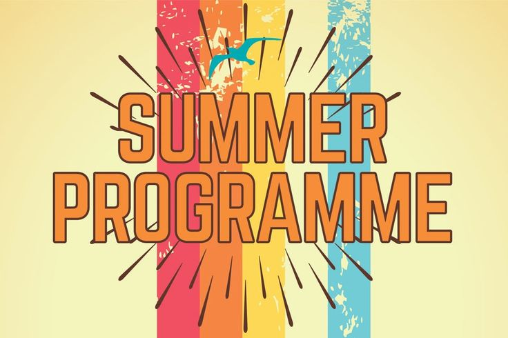 SUMMER PROGRAMME - Logo and heading design for  The Summer Programme organised by Cook Grow Sew & Change Project. #logo #branding #identity #Summer #cookgrowsew&change
