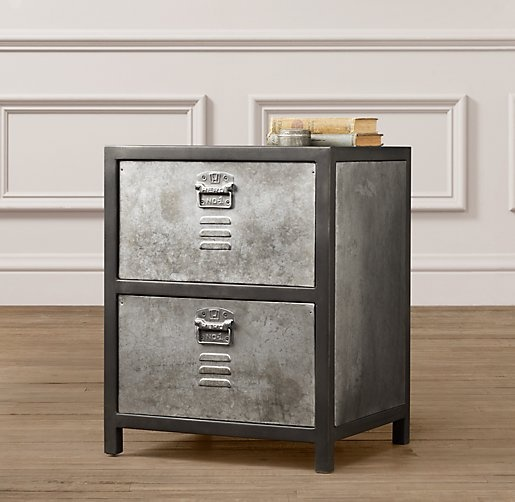 Vintage Locker Nightstand Nightstands Amp Side Tables