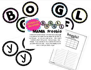 LOOOVE...free boggle board and free math boggle board!