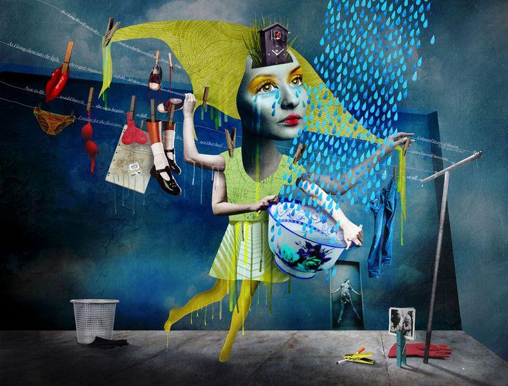 Caitlin Truman-Baker, 'Let it hang dry'
