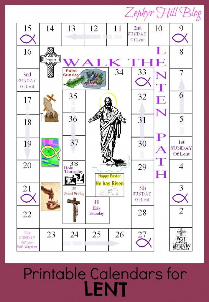 Lenten Calendar Ideas : Best days of lent ideas on pinterest