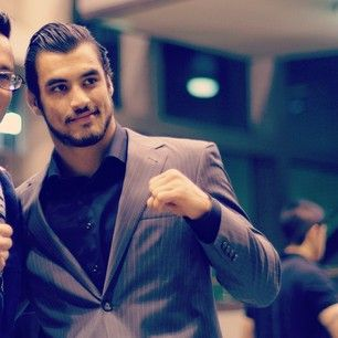 Oh, and he cleans up well. VERY WELL. | If You're Not A Fan Of MMA, Kron Gracie Will Convert You