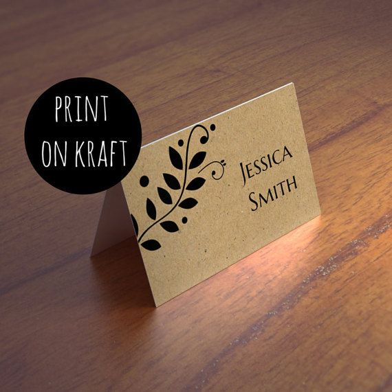 tent name cards