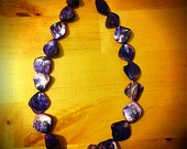 Purple Mother of Pearl Necklace