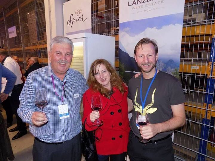 The owners of The Wine Kitchen meeting with our GM, Boets Nel at Prowein Dusseldorf 2015