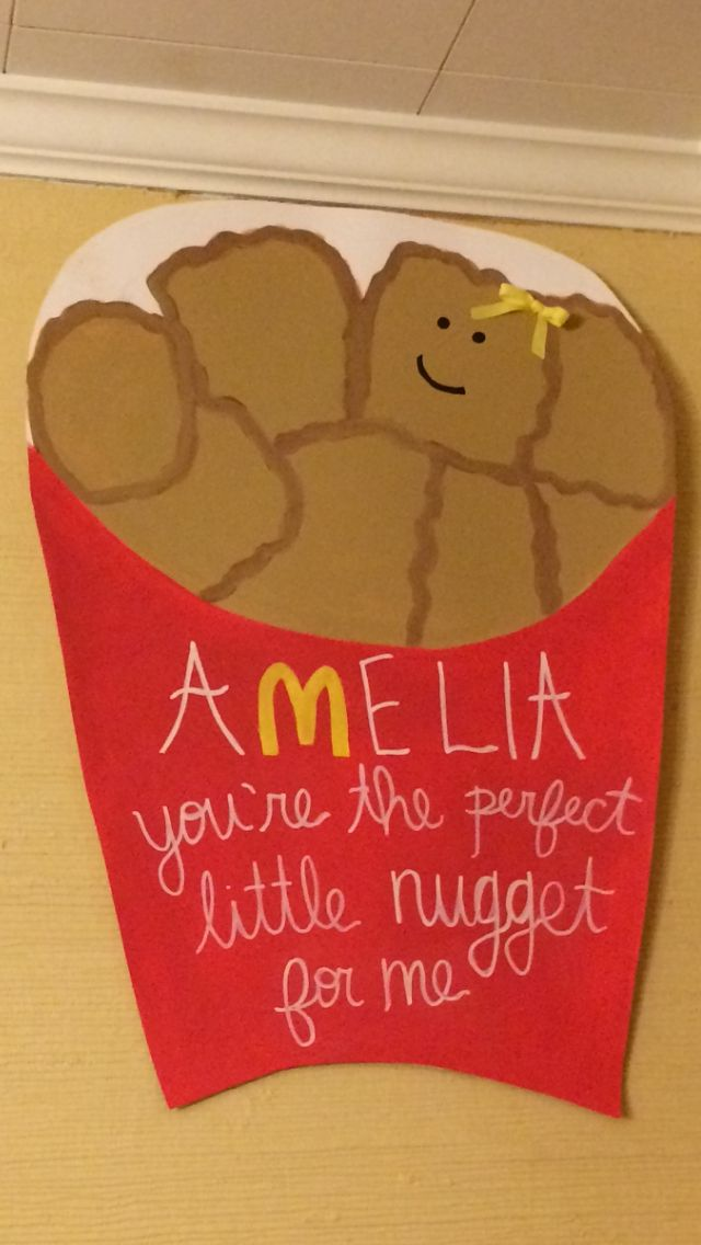 Big and little poster ideas. Perfect little nugget for me!