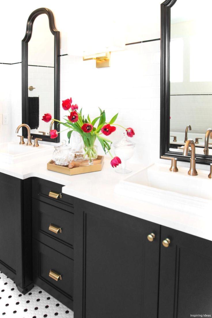 Cool 100 Incredible Black and White Bathroom Design Ideas https://roomaniac.com/100-incredible-black-white-bathroom-design-ideas/
