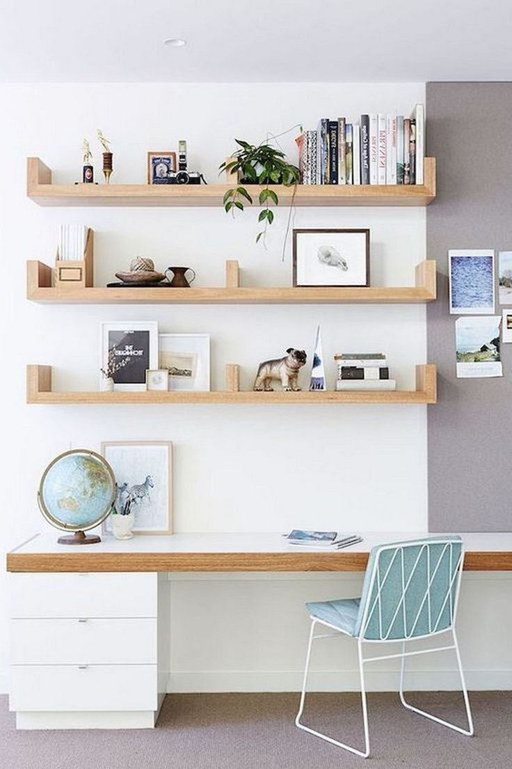 18+ Cool Wall Storage Ideas Small Office