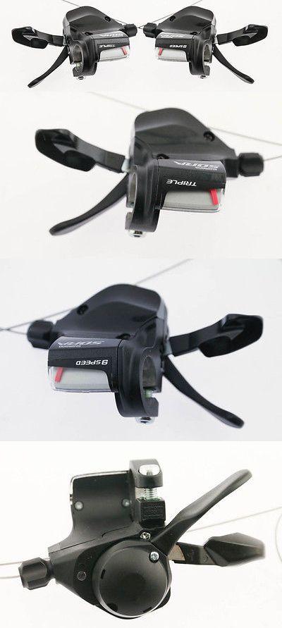 Shifters 177824: Shimano Sora Sl-3500 3503 3 X 9 Speed Flat Bar Road Hybrid Bike Shifters New -> BUY IT NOW ONLY: $53.97 on eBay!