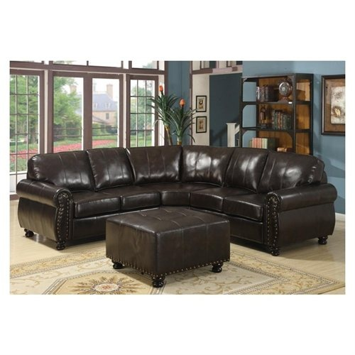 What Color To Paint Walls With Brown Furniture: Blue Wall Color With Brown Leather Couch