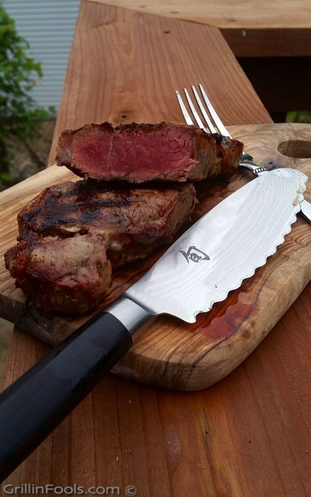 Grilling a Frozen Steak is not something that should be mocked. It's legit. Let me show you in a video series on exactly how to do it | GrillinFools.com | #GourmetGrillmaster | www.gourmetgrillmaster.com