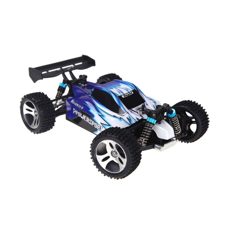 Wltoys A959 1/18 1:18 Scale 2.4G 4WD RTR Off-Road Buggy RC Car Sales Online blue - Tomtop.com