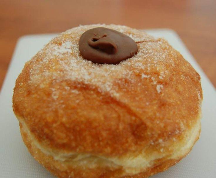 Recipe Jam/Nutella Doughnuts by flispat@ozemail.com.au - Recipe of category Desserts & sweets