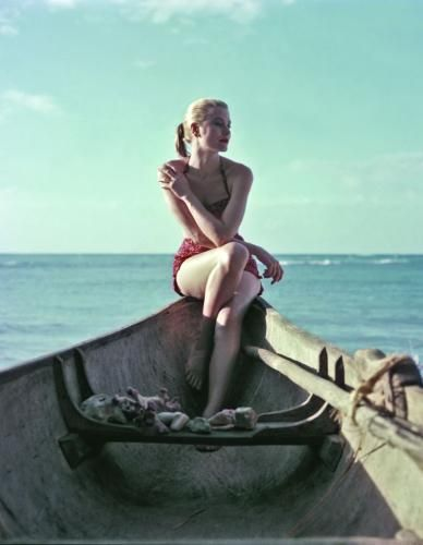 Grace Kelly by Howell Conant, 1955