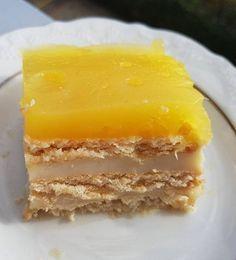Portakal Pelteli Bisküvi Pasta