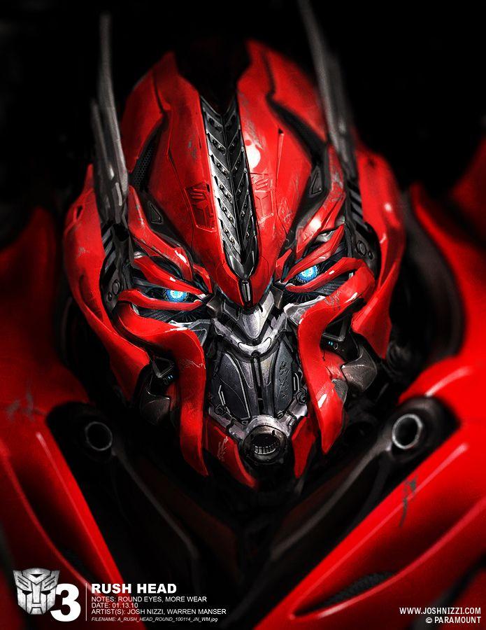 Transformers 3 | Rush Head by Josh Nizzi