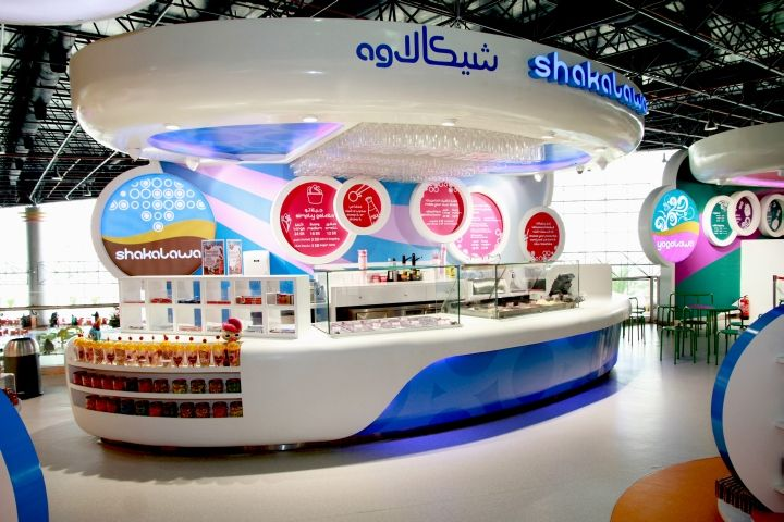 Candylawa candy store by Red Design Group, Riyadh   Saudi Arabia ice cream store design