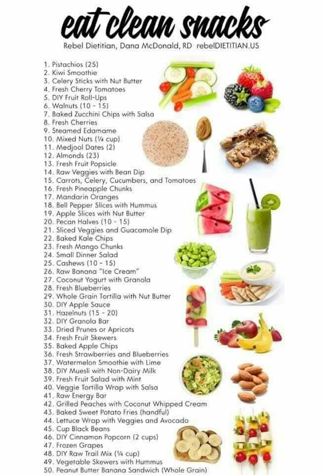 Eat Clean lean snacks - Isagenix