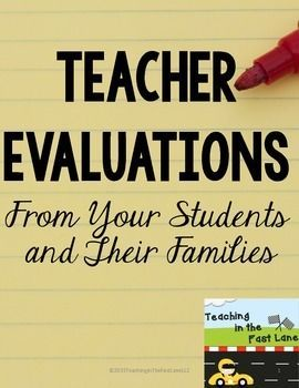 Teacher Evaluation FREEBIE-I like to give out these evaluations to students and families  before the end of the first semester to evaluate how the year is going is see if any adjustments are needed for the rest of the year.