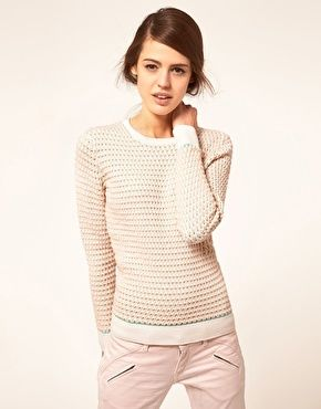 Jumper oval knit by Jonathan Sanders  (available on ASOS)