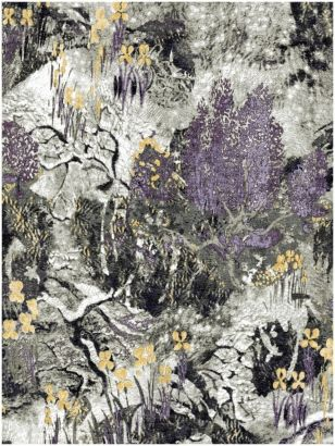 Expert S Hand Knot Our Alice In Wonderland Winter Rugs From The Aanya Collection Using Premium