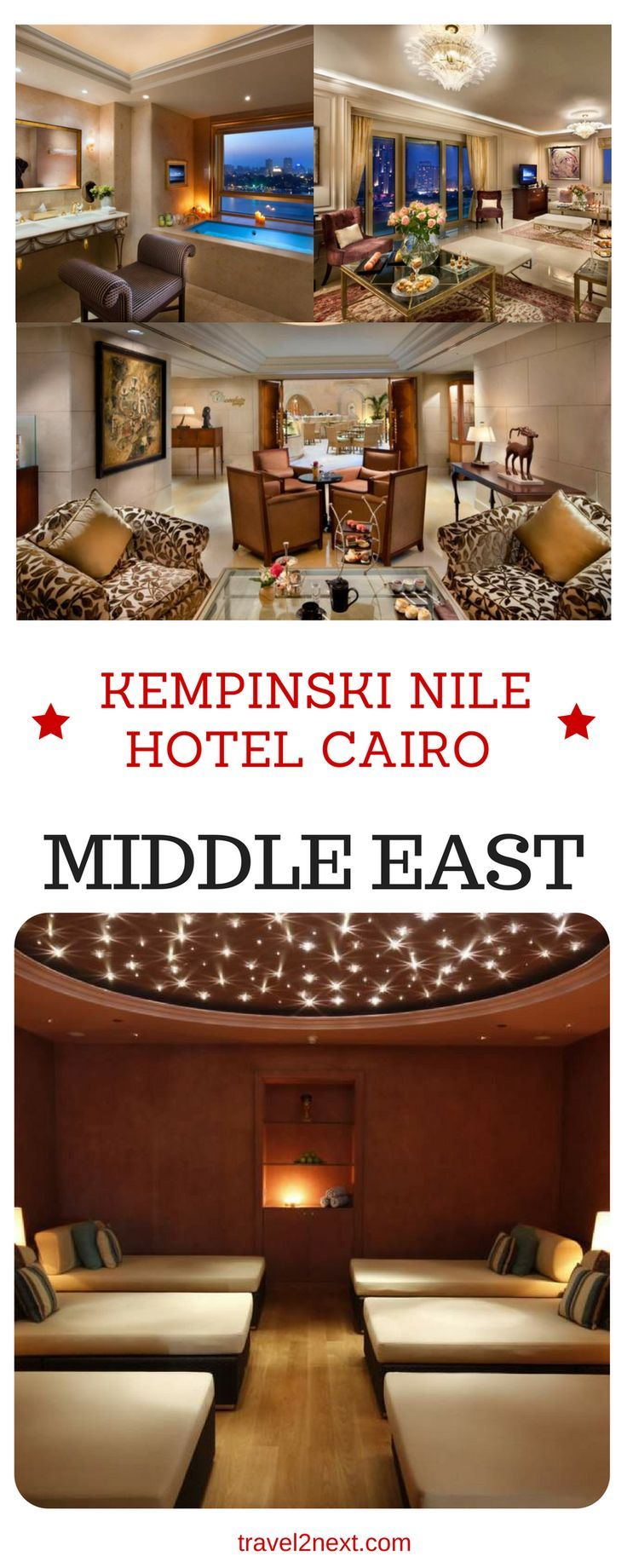 Kempinski Nile Hotel Cairo review. Soon after the Kempinski Nile Hotel Cairo opened, the Egyptian revolution took place (in January 2011) and business in Egypt grinded to a halt.