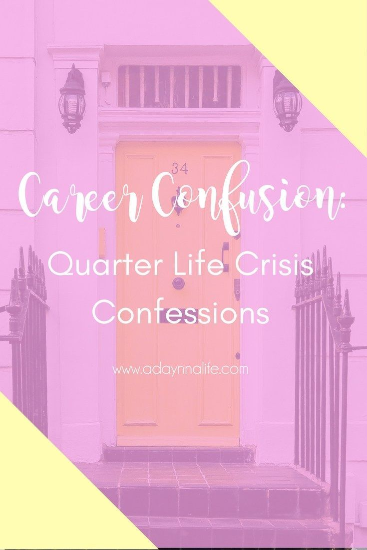 Let's get real about career confusion. When you're a millennial woman fresh out of college or university, it can be difficult realizing that you're not on the career path you want to be on. Learn how I deal with career confusion in my Quarter Life Crisis Confessions series!