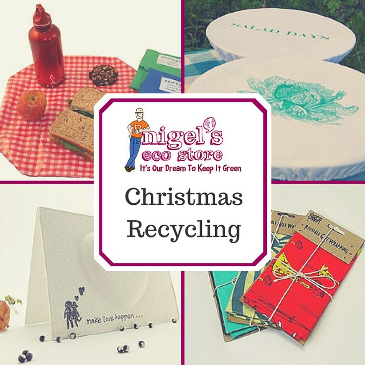 So much of our waste at Christmas can be recycled, from plastic to batteries, and even the Christmas tree!