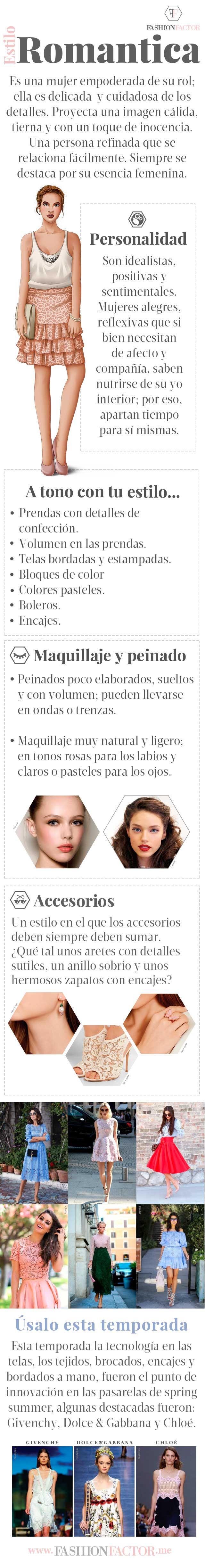 Estilo: Romántica - Fashion Factor