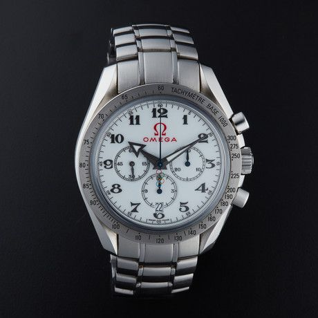 "Omega Speedmaster ""Broad Arrow"" Olympics Edition Automatic // 321.10.42.50.04.001 // Pre-Owned"