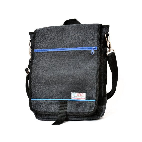 Dani the Unisex messenger bag and backpack. Grey by @vankirsch  #backpack #bag #messengerbag