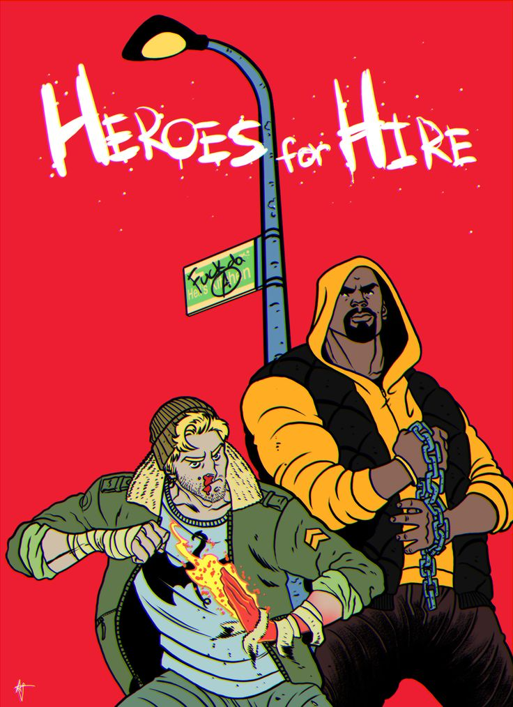 Heroes for Hire - Luke Cage and Iron Fist  Artyom Topilin