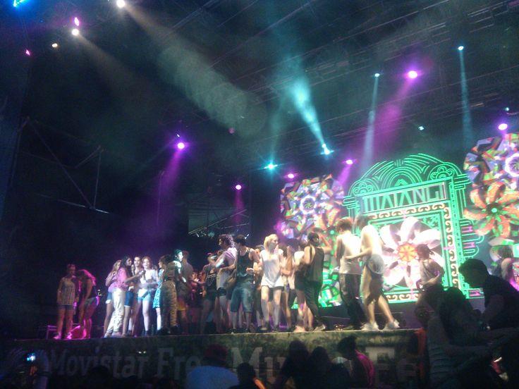 #MIA hace subir a la #ComunidadMovistar al escenario