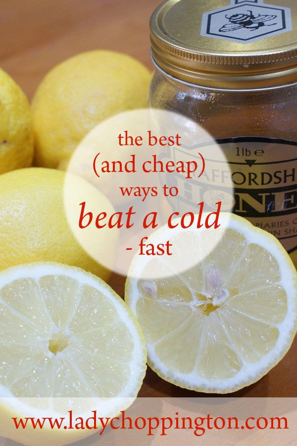 The best (and cheap) ways to beat a cold - fast: http://bit.ly/2bnEbYy