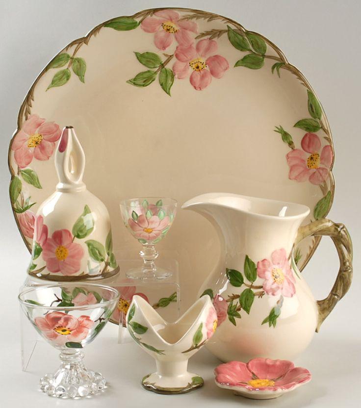 17 best images about franciscan earthenware desert rose on. Black Bedroom Furniture Sets. Home Design Ideas