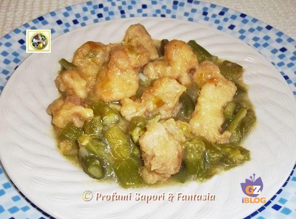 Bocconcini di pollo agli asparagi, ricetta Blog Profumi Sapori & Fantasia