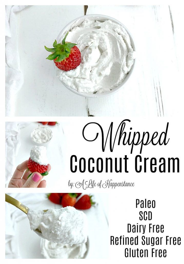 Whipped Coconut Cream Recipe Dairy Free Dairy Free Whipped
