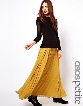 seriously, no need for pants. ASOS Maxi Skirt