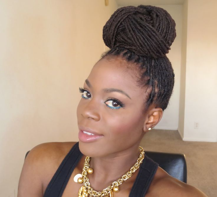 Beyonce inspired loc hairstyle bun updo tutorial. This lock hairstyle can be elegant as well as casual and very fitting for the summer. Thumbs up if you like...