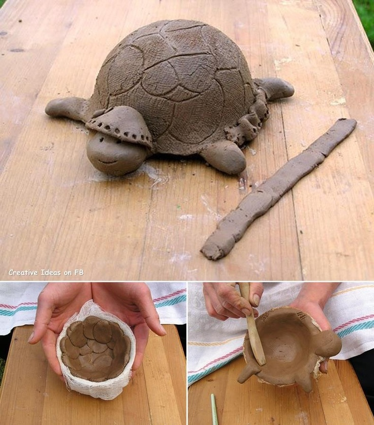 26 Best Clay Turtles Images On Pinterest Ceramic Turtle