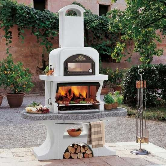 best 25+ gartenkamin grill ideas on pinterest   feuerstelle kamin, Gartenarbeit ideen