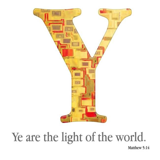 Y, the Christian Alphabet by Mark Lawrence
