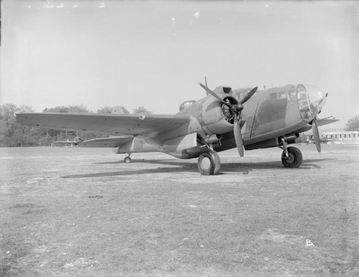 AMERICAN AIRCRAFT ROYAL AIR FORCE SERVICE 1939-1945 MARTIN MODEL 187 BALTIMORE (ATP 9982B)   Baltimore Mark III, AG837, at Boscombe Down, Wiltshire. Following handling trials at the Aeroplane and Armament Experimental Establishment, AG837 was delivered to the Middle East for operational service.