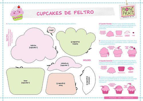 DIY: Make Felt Cupcakes