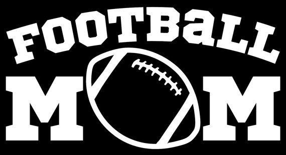 Football Mom Vinyl Decal Sticker | Vinyls, Football and ...