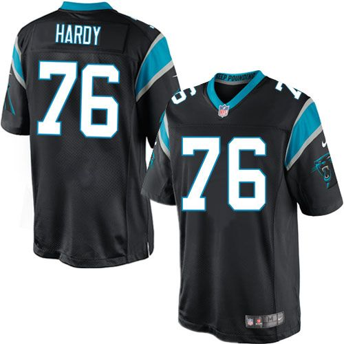 82b662427 ... men nike carolina panthers 76 greg hardy limited black team color nfl  jersey ...