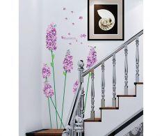 Samolepka Purple Iris
