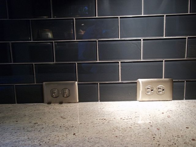 Find This Pin And More On Hiding Electric Outlet Kitchen Counter